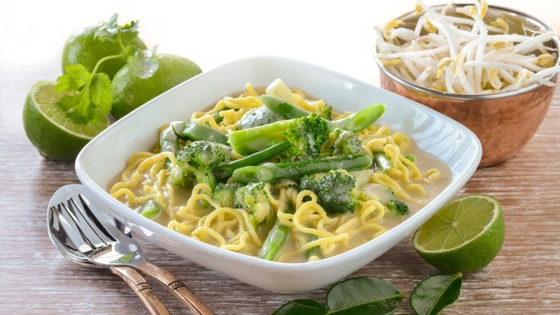 Fragrant Thai Vegetable Curry Recipe