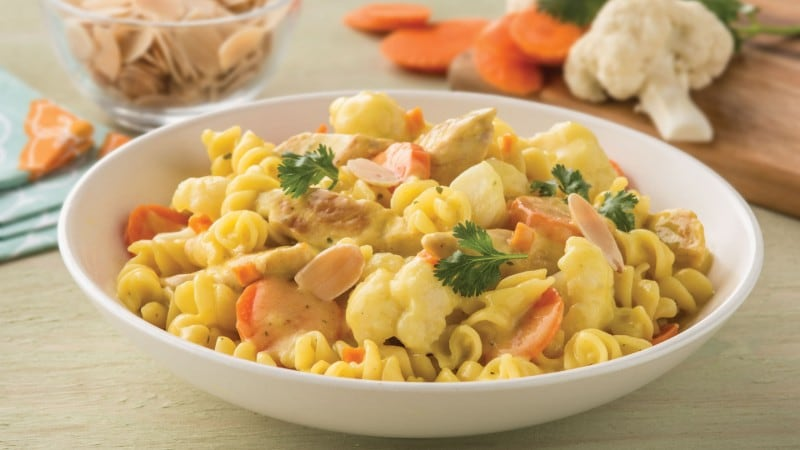 Chicken, Cauliflower & Carrot Curry Recipe