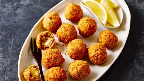 Mushroom & Mozzarella Arancini Balls