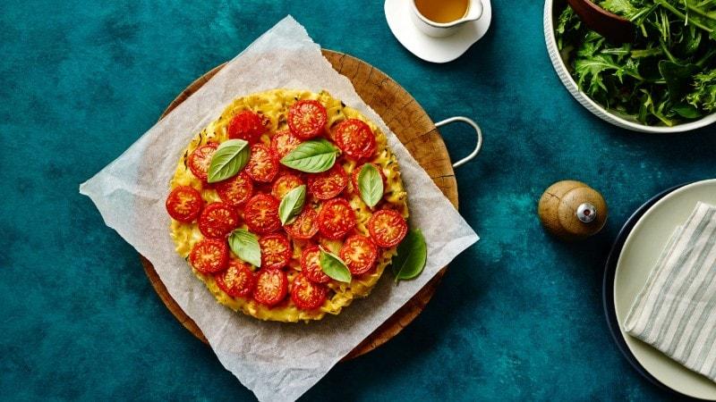 Vegie Pasta Frittata