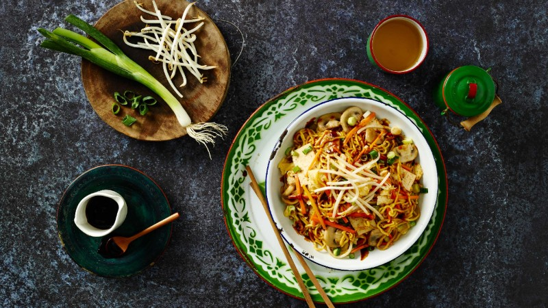 Vegetable Mie Goreng