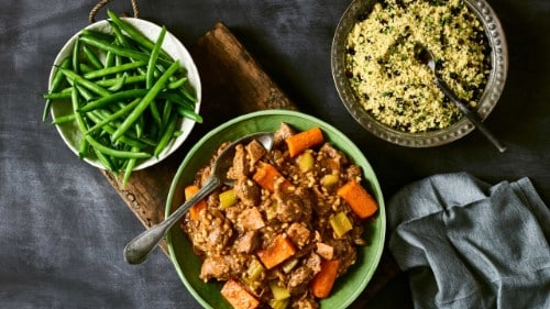 Slow Cooked Beef & Barley Stew