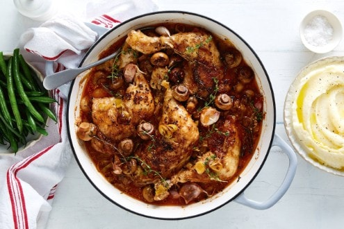 Pot-roast chicken