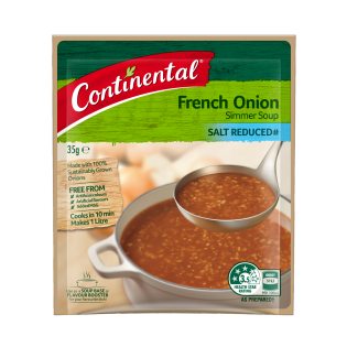 French Onion Simmer Soup Salt Reduced