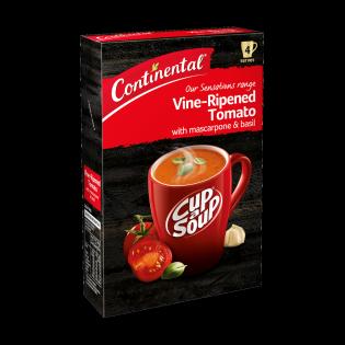 Vine-Ripened Tomato with Mascarpone & Basil