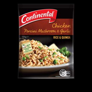 Chicken Porcini Mushroom & Garlic Rice & Quinoa
