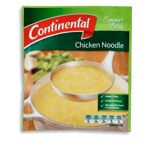 Chicken Noodle Simmer Soup