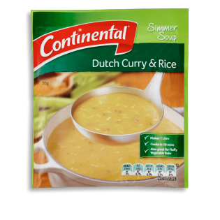 Dutch Curry with Rice Simmer Soup