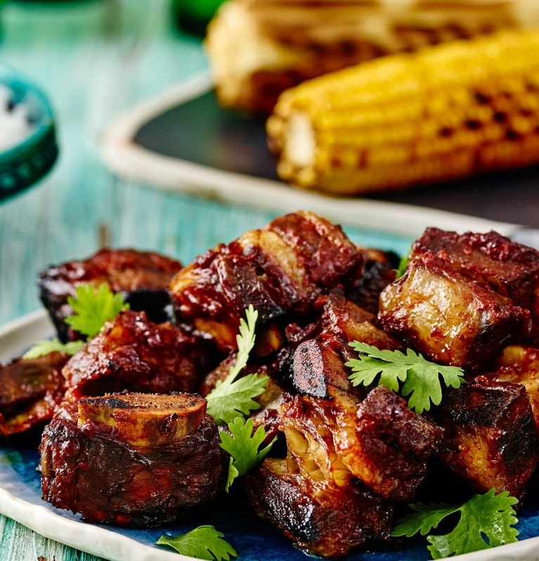 Sticky Mexican Beef Ribs