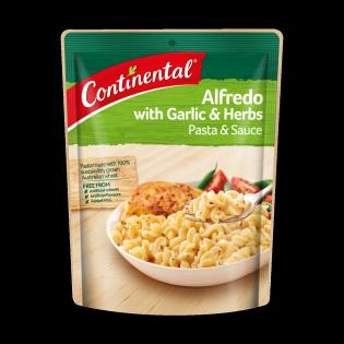 Alfredo with Garlic & Herbs
