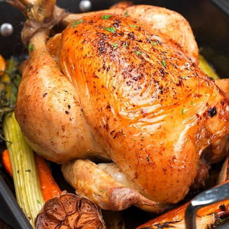 The Secret To A Great Roast Chicken